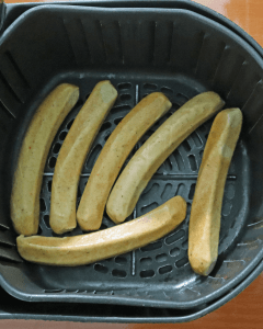 Chicken sausage air fryer time and temp