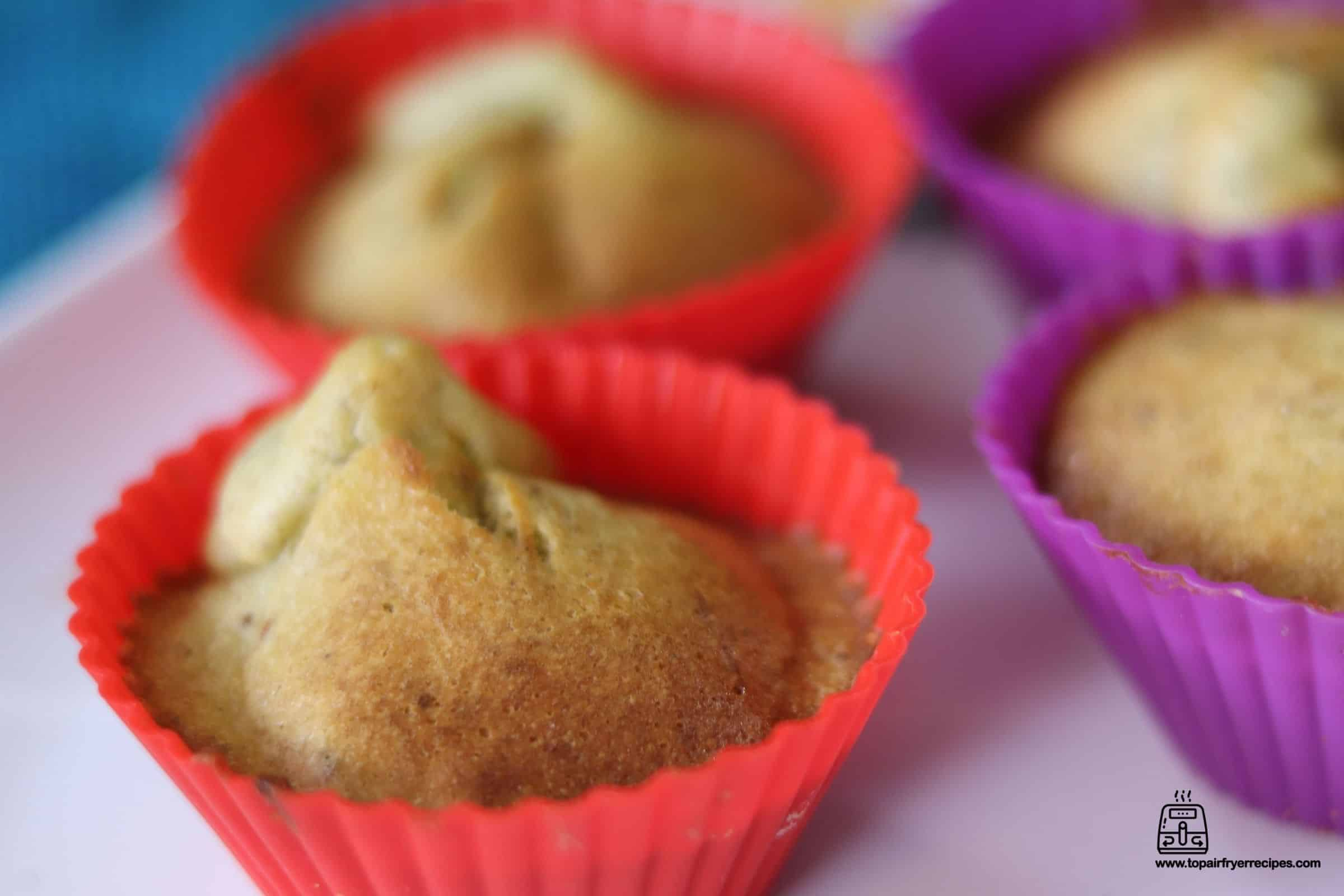 banana muffins made in air fryer