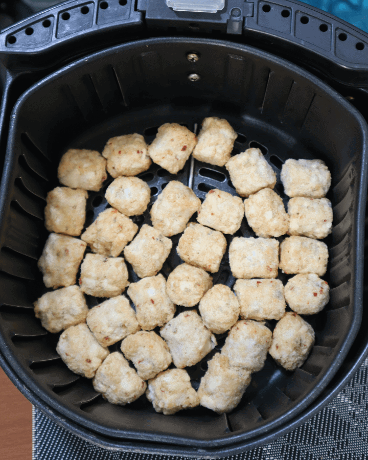 Frozen tater tots in air fryer