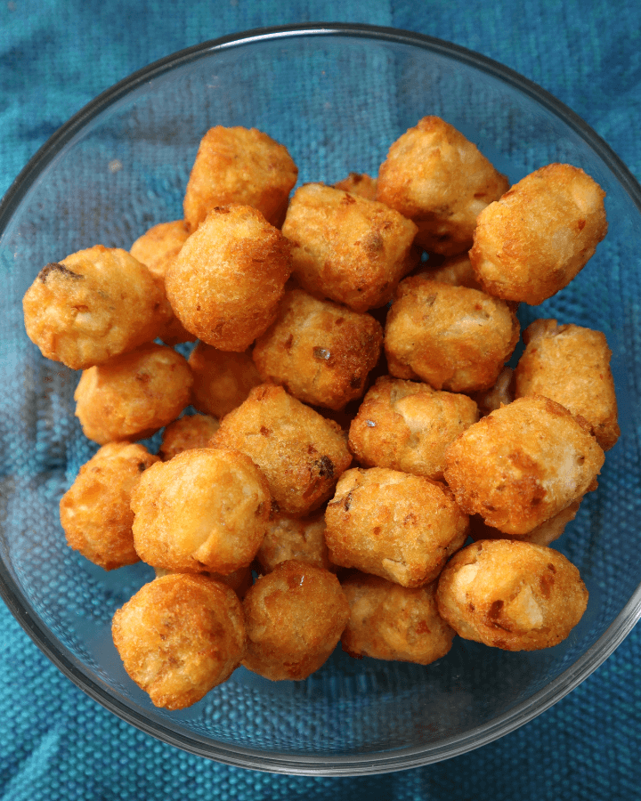 tater tots in a bowl