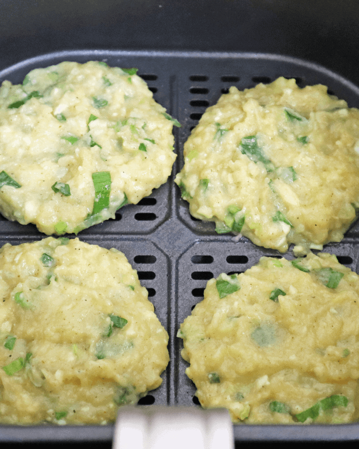 How to cook potato cakes in air fryer