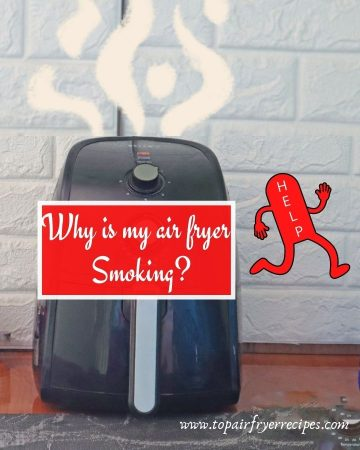 Why is my air fryer smoking
