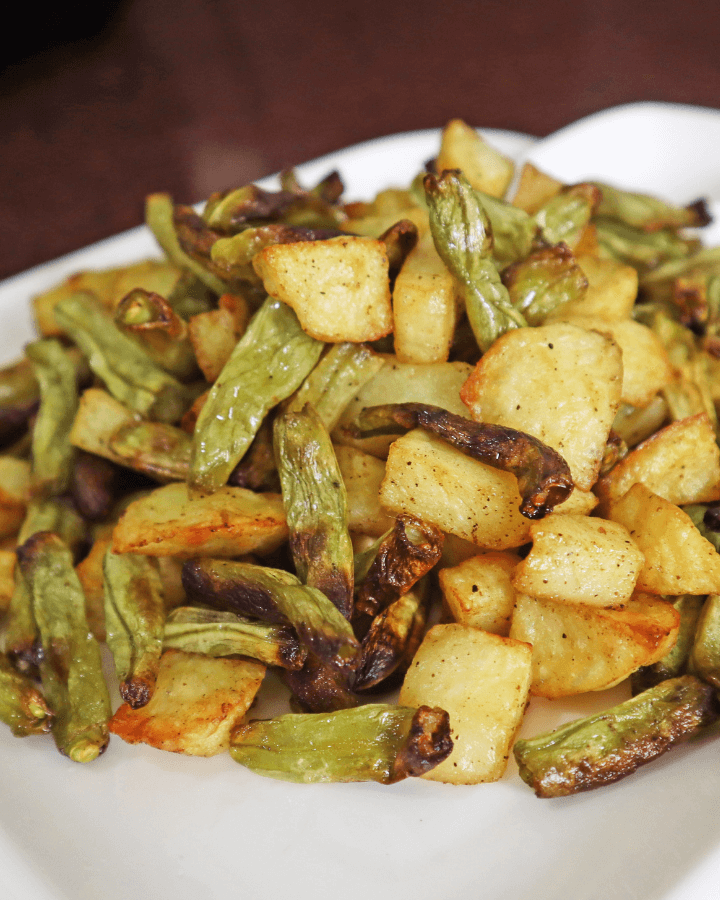 can you air fry green beans