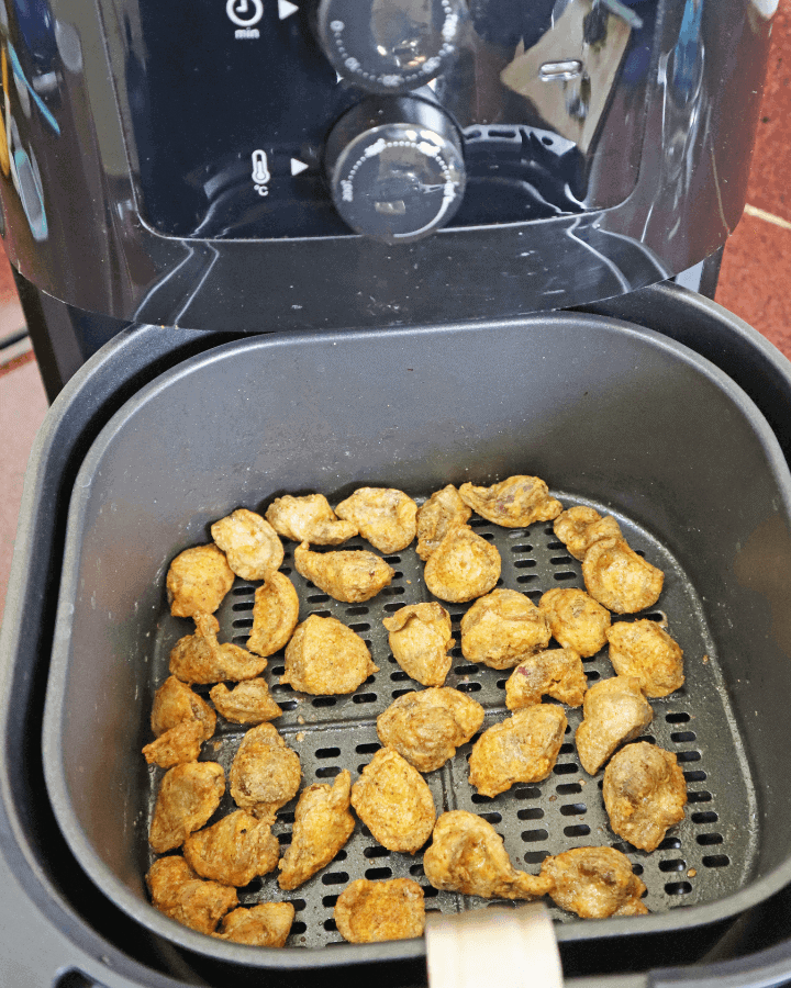 how to air fry gizzards