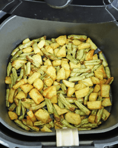 how to cook green beans in the air fryer